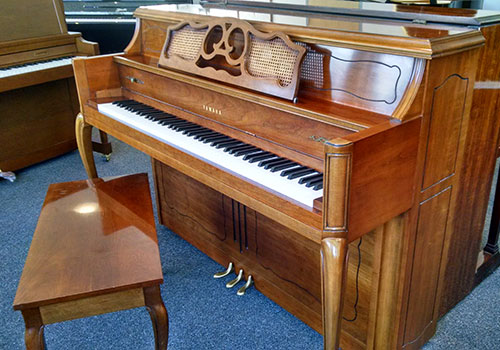 Yamaha model m 405 console piano piano sales and restoration - Yamaha console piano models ...