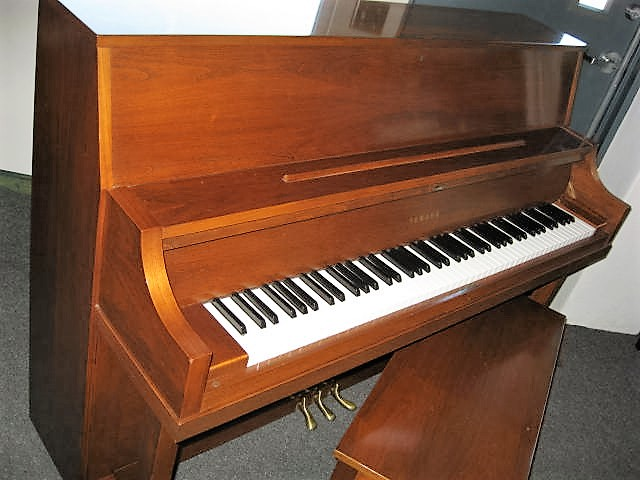 Yamaha model p22 studio upright piano for Yamaha upright piano models