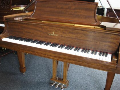Steinway & Sons Model O Parlor Grand Piano