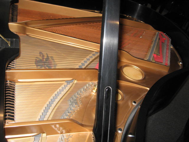 Mason Hamlin Grand Piano soundboard