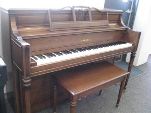Yamaha Mediterranean Console Piano