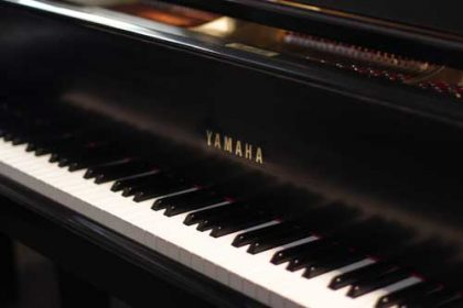 Yamaha C3 Grand Piano in Ebony Satin
