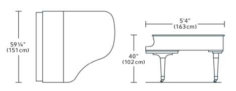 Boston GP163 Dimensions
