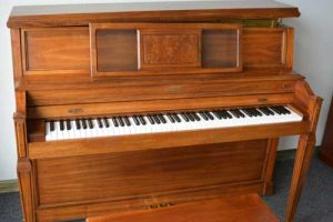 Baldwin Upright Piano in Walnut