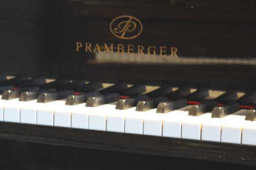Pramberger grand piano logo