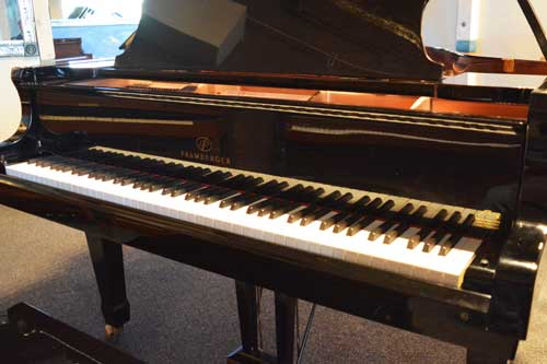 Pramberger grand piano keyboard