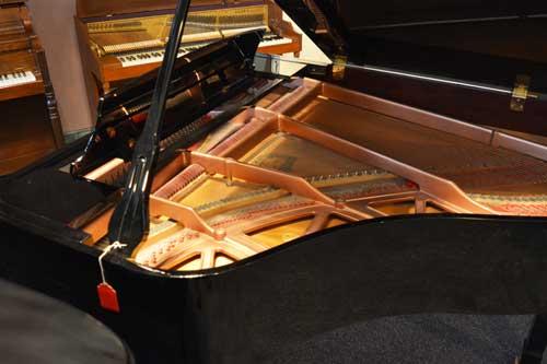 Pramberger grand piano soundboard