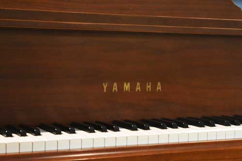 Yamaha grand piano keyboard