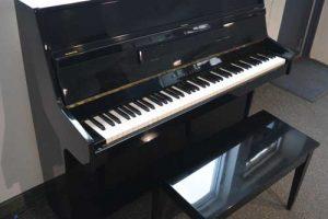 Young Chang Upright piano in Ebony Polish finish