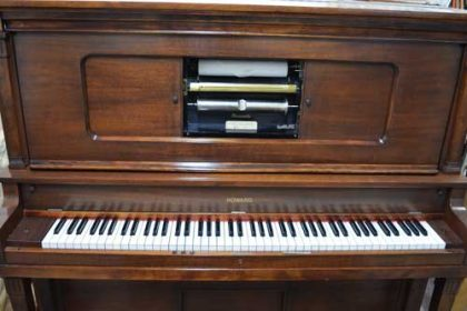 Howard Upright Player Piano