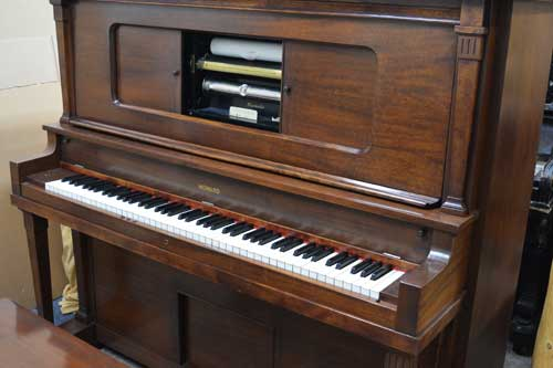 Howard Player piano keyboard at 88 Keys Piano Warehouse