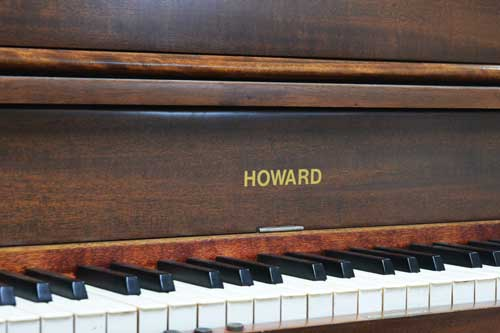 Vintage Howard upright player piano at 88 Keys Piano Warehouse