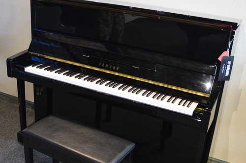 Yamaha upright piano at 88 Keys Piano Warehouse