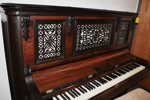 Hardman 1883 Upright Piano at 88 Keys Piano Warehouse