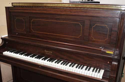 Everett Upright piano keyboatrd At 88 Keys Piano Warehouse