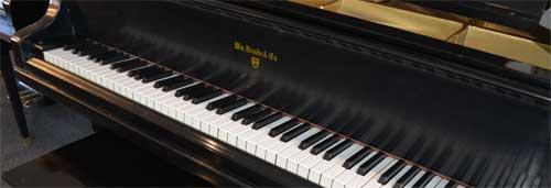 Kanabe grand piano keyboard At 88 Keys Piano Warehouse