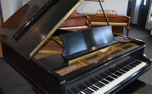 Kanabe grand piano top At 88 Keys Piano Warehouse