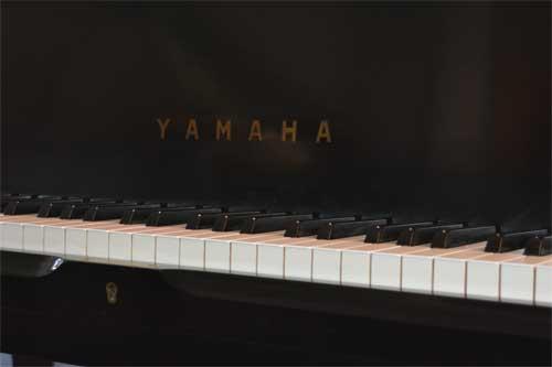 Yamahe grand piano logo At 88 Keys Piano Warehouse