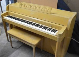 Baldwin Acrosonic spinet piano at 88 Keys Piano Warehouse