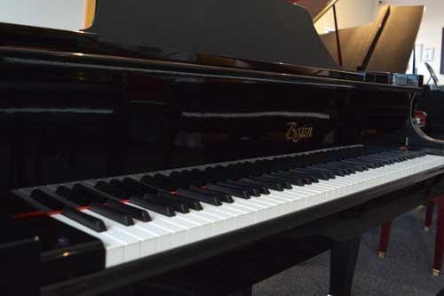 Boston GP-163 grand piano keyboard at 88 Keys Piano Warehouse