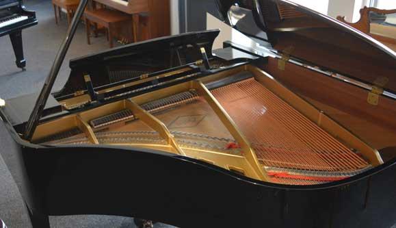 Boston GP-163 grand piano soundboard at 88 Keys Piano Warehouse