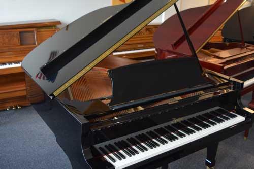Boston GP-163 grand piano top at 88 Keys Piano Warehouse