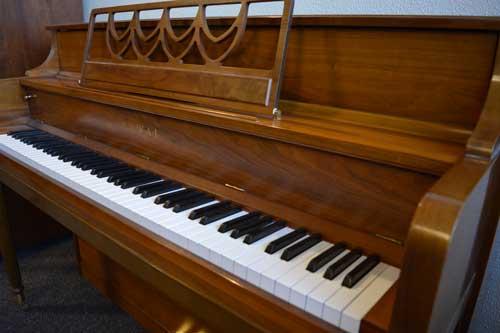 Kawai console piano keyboard at 88 Keys Piano Warehouse
