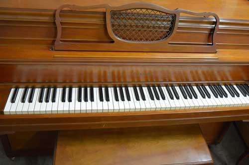 Story & Clark Console piano keyboard at 88 Keys Piano Warehouse