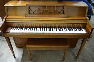 Wurlitzer Model 2616 Console piano at 88 Keys Piano Warehouse