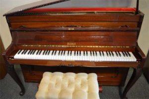 Petrof upright piano at 88 Keys Paino Warehouse
