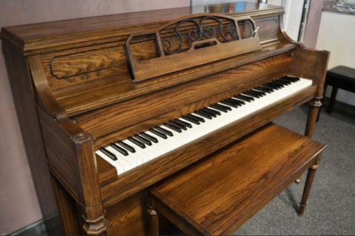 Yamaha Model M-202 studio piano at 88 Keys Piano Warehouse