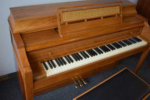 Baldwin Acrosonic piano top at 88 Keys Piano Warehouse
