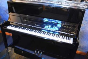 Bergmann upright piano at 88 Keys Piano Warehouse