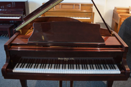 Hallet Davis Grand Piano