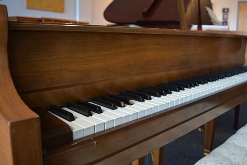 Kimball Grand Piano keyboard at 88 Keys Piano Warehouse