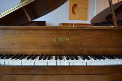 Kimball Grand Piano logo at 88 Keys Piano Warehouse