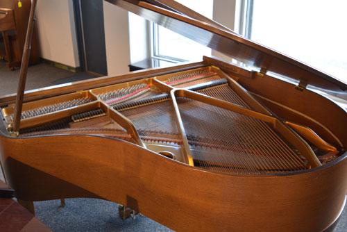 Kimball Grand Pianbo soundboard at 88 Keys Piano Warehouse