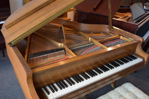 Kimball Grand Piano top view at 88 Keys Piano Warehouse