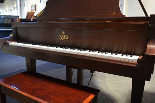 Essex Grand piano keyboard at 88 Keys Piano Warehouse