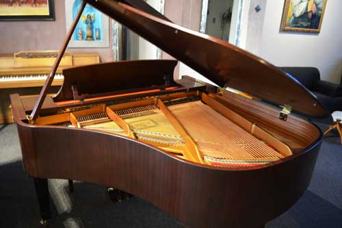 Essex Grand piano soundboard at 88 Keys Piano Warehouse