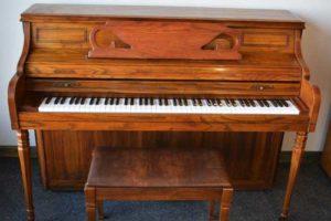 Kimball Console piano at 88 Keys Piano Warehouse