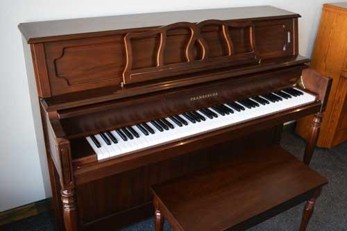Pramberger studio piano side at 88 Keys Piano Warehouse