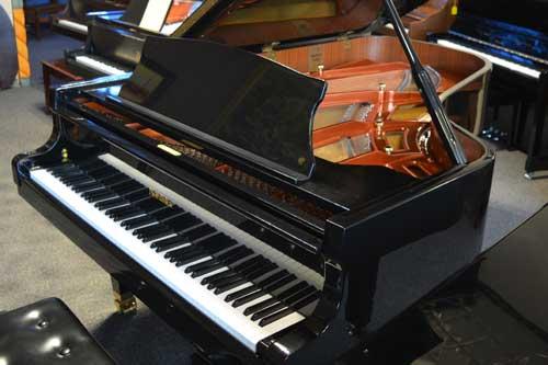 Nordiska Grand piano sideview at 88 Keys Piano Warehouse