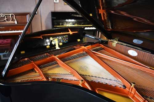 Nordiska Grand piano soundboard at 88 Keys Piano Warehouse