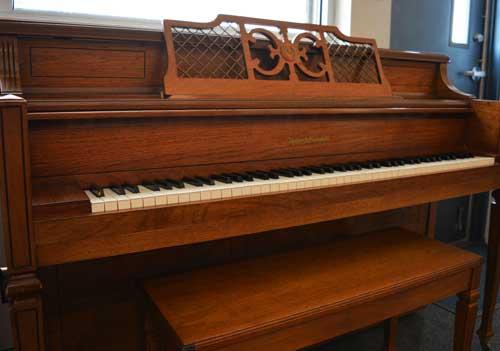 Kohler Campbell console piano keyboard at 88 Keys Piano Warehouse