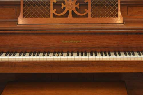 Kohler Campbell console piano logo at 88 Keys Piano Warehouse