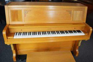Everett Model 21 upright piano at 88 Keys Piano Warehouse