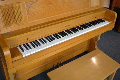 Everett studio piano keyboard at 88 Keys Piano Warehouse