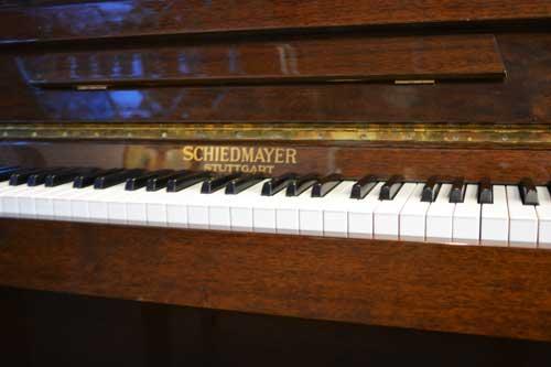 Schiedmayer studio piano logo at 88 Keys Piano Warehouse