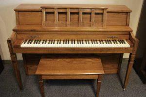 Baldwin Consolette piano at 88 Keys Piano Warehouse